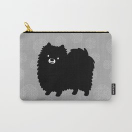 Cute Black Pomeranian Carry-All Pouch