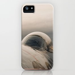 RCAF (89) T- Bird Considers a Sunset. iPhone Case