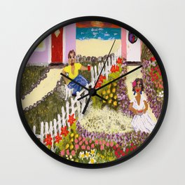 Cherry Pie Wall Clock