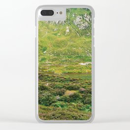 Devil's Kitchen Detail Clear iPhone Case