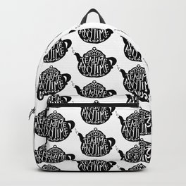 TEA TIME. ANY TIME. Backpack