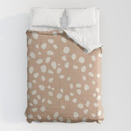PEACH PEBBLES Comforters