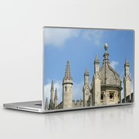 spires Laptop & iPad Skins featuring Spires of All Souls by Ann Horn