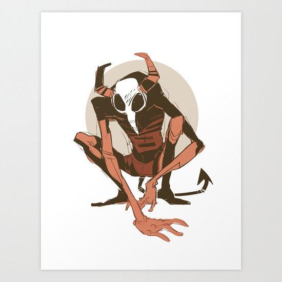 lurk Art Print