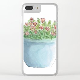 Sun Jewels Clear iPhone Case