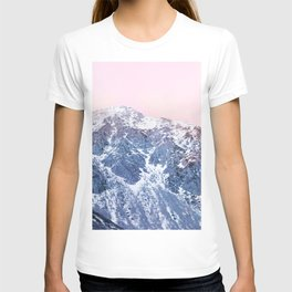 Rose Quarz and Serenity Mountains T-shirt