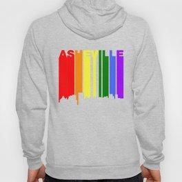 Asheville North Carolina Gay Pride Skyline Hoody