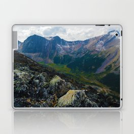Down in the Valley, Pyramid Mt in Jasper National Park, Canada Laptop & iPad Skin
