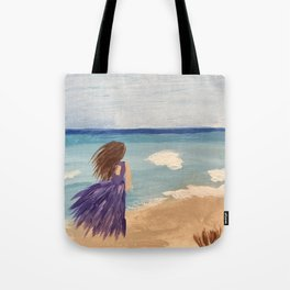 Royal Beach Walk Tote Bag
