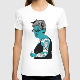 Tattoo Lady colour by Emilythepemily T-shirt