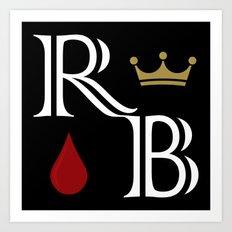 Royal Blood Art Print