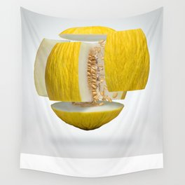 Flying Casaba Melon Wall Tapestry