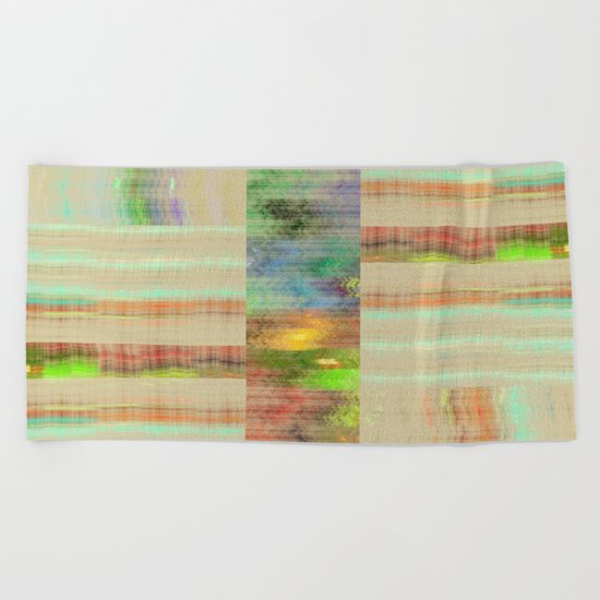 Abstract Pattern 5 Beach Towel