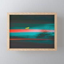 Lamp Framed Mini Art Print
