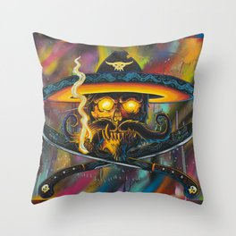 El Bandito Casual Throw Pillow