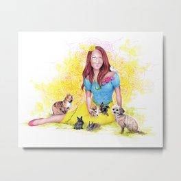 Snow White I | Endometriosis awareness Metal Print