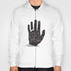 Hand-Etch-Type Hoody