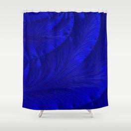 Renaissance Blue Shower Curtain