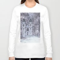 castle Long Sleeve T-shirts featuring Castle by Simone Gatterwe