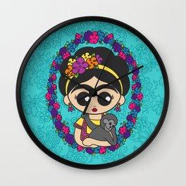 Little Monkey Friend Wall Clock