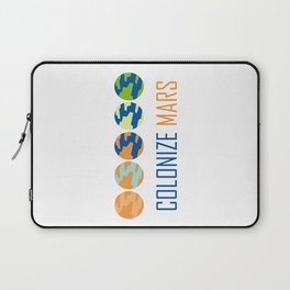 Colonize Mars Laptop Sleeve