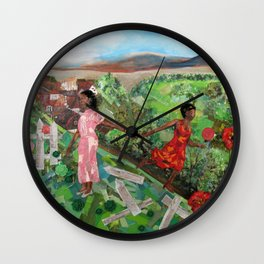 My Rose of the World Wall Clock