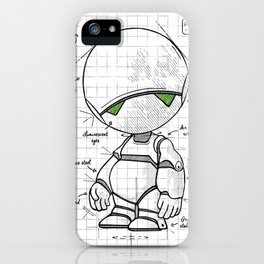 Marvin Plan iPhone Case