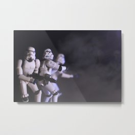 Only Imperial Stormtroopers are so precise Metal Print