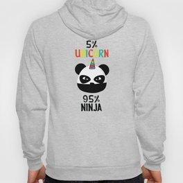 Unicorn Ninja Panda Hoody