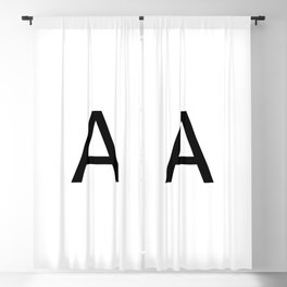 Capital A Blackout Curtain