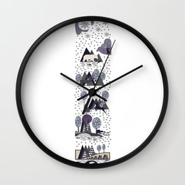Love To The Nature Wall Clock