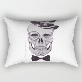 Classy Skull Rectangular Pillow