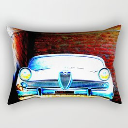The car in the attic Rectangular Pillow
