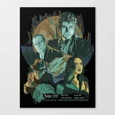 Dark City Poster Canvas Print
