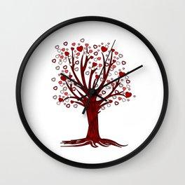 Heart Tree (2) Wall Clock