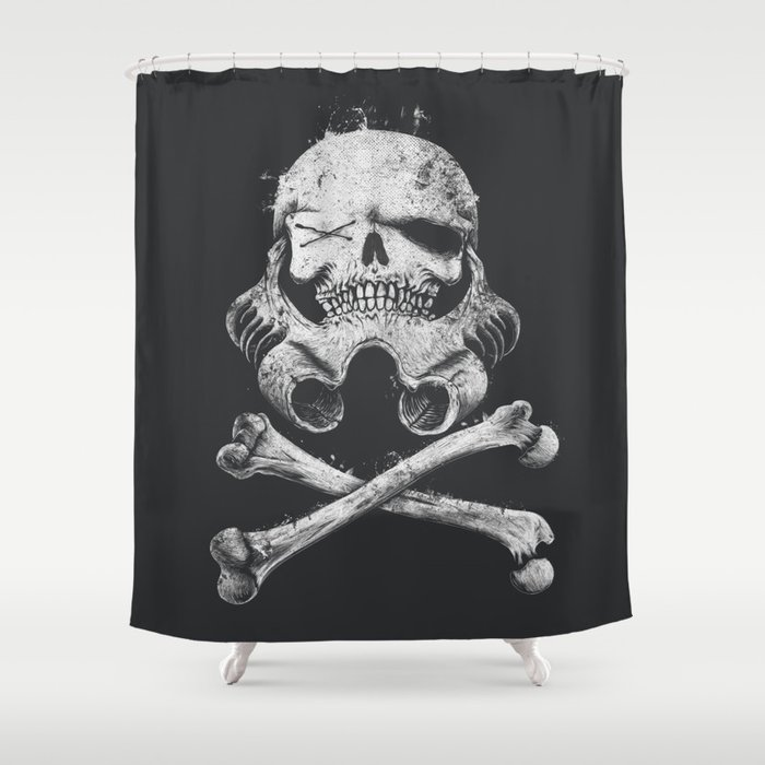 STORM PIRATE Shower Curtain