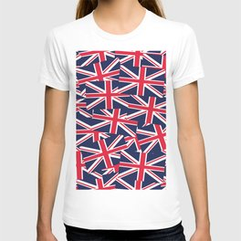 Union Jack Flags T-shirt