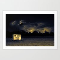 The Storm that Changed Everything Art Print