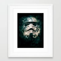 trooper Framed Art Prints featuring Trooper by Sirenphotos