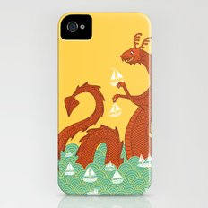 It's a Good Day to be a Sea Monster Slim Case iPhone (4, 4s)