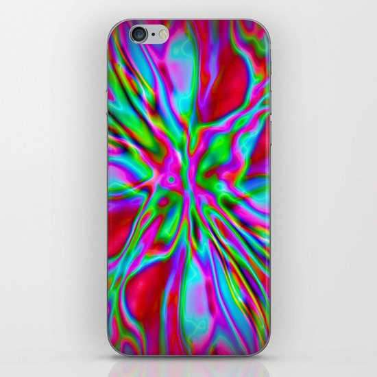 Colorfoil Radiates Red iPhone & iPod Skin
