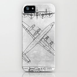 LOCKHEED CONSTELLATION iPhone Case