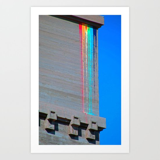 Urban Rainbow Art Print