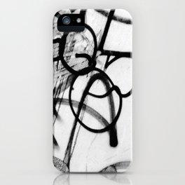 Scribble2 iPhone Case