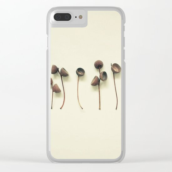 Acorn Collection Clear iPhone Case