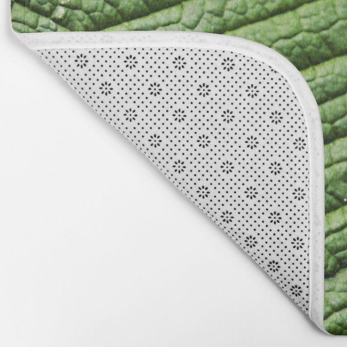 Leaf texture Bath Mat