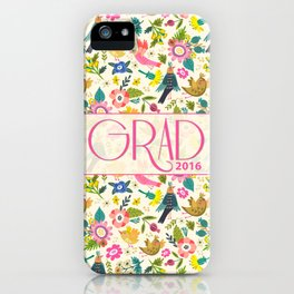Fly to Success 2016 Grad iPhone Case