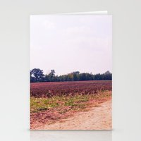 tennessee Stationery Cards featuring TENNESSEE FIELD by Allyson Johnson