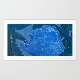 Primate Escape Art Print
