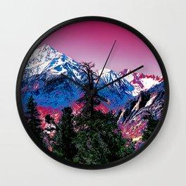 VIVID WINTER Wall Clock